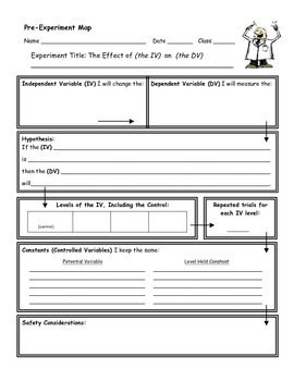 Science Experiment Map