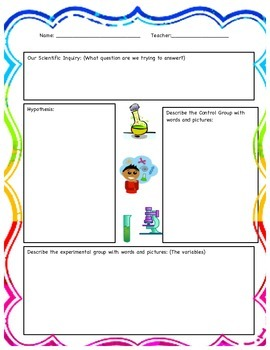 Science Experiment Multiple Observation Worksheet