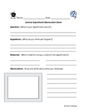 Science Experiment Observation Sheet