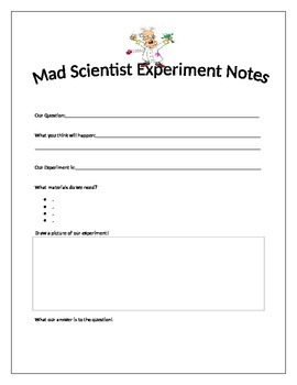 Science Experiment Observations