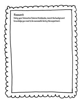 Science Experiment Organizer