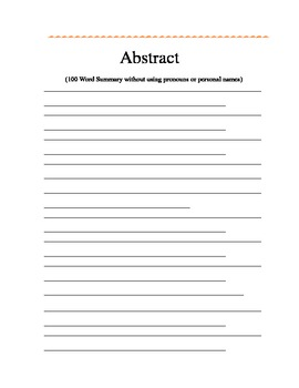 Science Experimental Method Forms (Editable long version)
