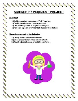 Science Experiment Project
