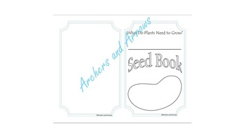 Science Experiment Seed Book