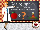 Science Experiment: Oozing Apples