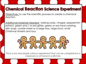 Science Experiment: Christmas Matters
