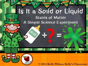 Science Experiment: Is It a Solid or Liquid?