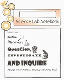 Science Experiment Student Lab Notebook