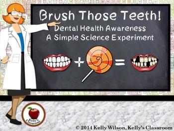 Science Experiment: Brush Those Teeth!