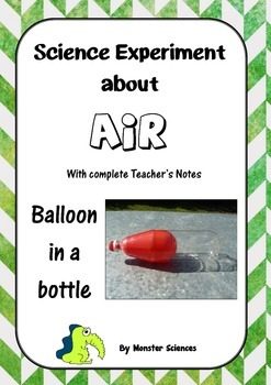 Science Experiment about Air - Balloon in a Bottle