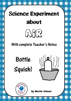 Science Experiment about Air - Bottle Squish
