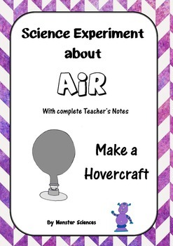 Science Experiment about Air - Build a hovercraft