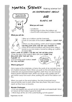 Science Experiment about Air - Elastic Air