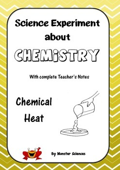 Science Experiment about Chemistry - Chemical Heat