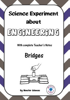 Science Experiment about Engineering - Bridges