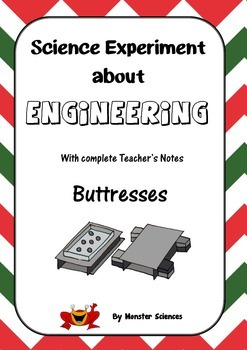 Science Experiment about Engineering - Buttresses
