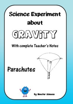 Science Experiment about Gravity - Parachutes