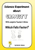 Science Experiment about Gravity - What Falls Faster?