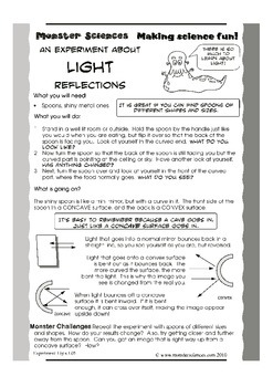 Science Experiment about Light - Investigating Reflections