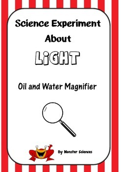 Science Experiment about Light - Oil Magnifier