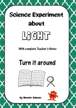 Science Experiment about Light - Turn it around