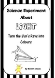 Science Experiment about Light - Turning the sun's rays in