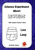 Science Experiment about Liquids - Make a Lava Lamp