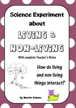Science Experiment about Living Things - How do they interact?