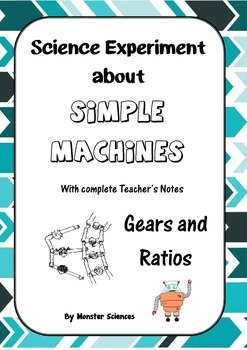 Science Experiment about Simple Machines - Gears and Ratios