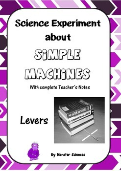 Science Experiment about Simple Machines - Levers