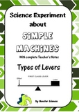 Science Experiment about Simple Machines - Types of Levers