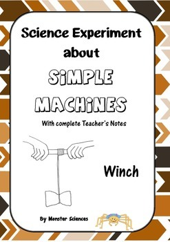 Science Experiment about Simple Machines - Winch