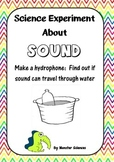 Science Experiment about Sound: Hydrophone