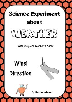 Science Experiment about Weather - Wind Direction