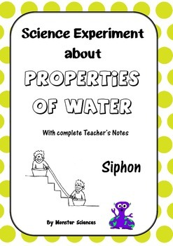 Science Experiment about the Properties of Water - Water Siphon