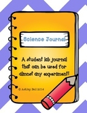 Science Experiment and Lab Journal and Poster Set