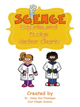 Science Experimental Design Anchor Chart Posters