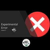 Science, Experimental Error:  Editable PowerPoint Lesson 5