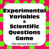 Scientific Method Independent & Dependent Variables &Quest