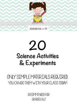 Science Experiments & Activities for Grade 1 & 2, Few Materials, Multiple Units