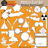Science Experiments Doodle Clip Art Collection