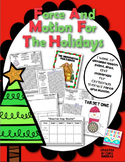 Force and Motion For The Holidays - Science Experiments