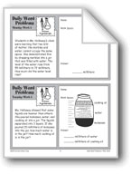 Science Experiments (Grade 4 Daily Word Problems-Week 5)