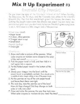 Science Experiments (Grades 2-5)