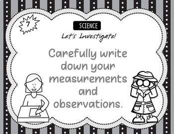 Introduction to Science - Science Experiments Posters for Elementary Classrooms