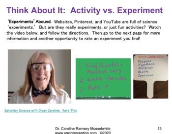 Experiments websites science Science Experiments