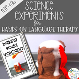 Science Experiments for Hands On Language Therapy