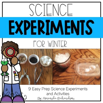 Science Experiments for Winter
