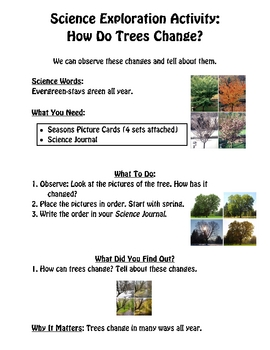 Science Exploration Activities for Elementary Students-Packet 1 of 3