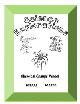 Science Explorations-The Five Signs of a Chemical Change Wheel